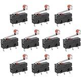 Bras Levier Rouleau Interrupteur 10 Pièces Mini Micro Limit SPDT Snap Action LOT