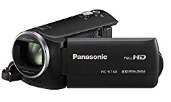 Panasoni HC-V160 Camcorder 8.9 Mega Pixels, 77X Intelligent Zoom With 8gb Card & Carry case
