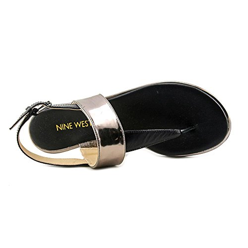 Nine West Kaius Synthetik Sandale Pewt/Blk
