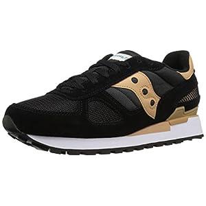 Sneakers uomo Sauony Originals, mod. Shadow O, art. 2108 637, colore nero beige, tomaia in mesh