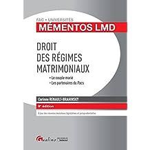 Mémentos LMD - Droit des régimes matrimoniaux 2016-2017