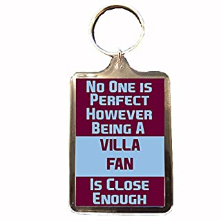 Aston Villa F.C - No One is Perfect Keyring