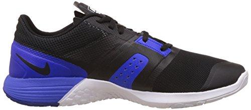 Nike - Fs Lite Trainer 3, Scarpe sportive Uomo Nero / Bianco / Blu / Grigio (Black/White-Racer Blue-Anthrct)