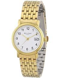 Regent Damen-Armbanduhr XS Analog Edelstahl beschichtet 12210874