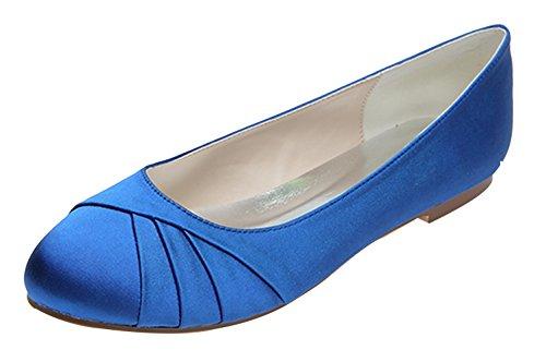 ZHENGXF Escarpin femme sexy Chaussure de marišŠe mariage Mode Bleu