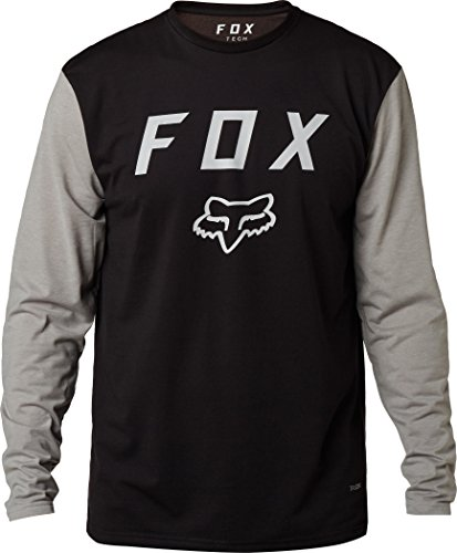 Fox-Tech-Langarmshirt-Contended-Dunkelrot