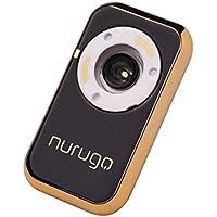 Nurugo Micro Smartphone Mikroskop mit 400x Vergrößerung mit Messfunktion und APP für iOS/Android inklusive Auflage zur Untersuchung von Objektträgern