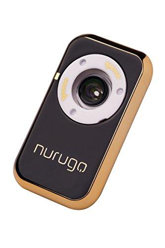 Nurugo Micro Smartphone Mikroskop mit 400x Vergrößerung mit Messfunktion und APP für iOS/Android inklusive Auflage zur Untersuchung von Objektträgern - Handy-mikroskop