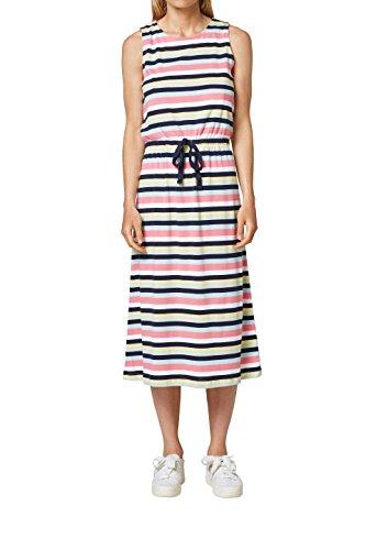ESPRIT Damen Kleid 068EE1E018, Blau (Navy 400), Medium