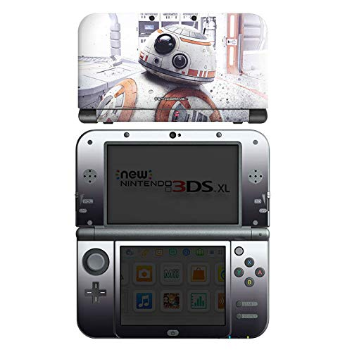 DeinDesign Skin kompatibel mit Nintendo New 3DS XL Aufkleber Sticker Folie Bb-8 Star Wars 8 Merchandise Fanartikel