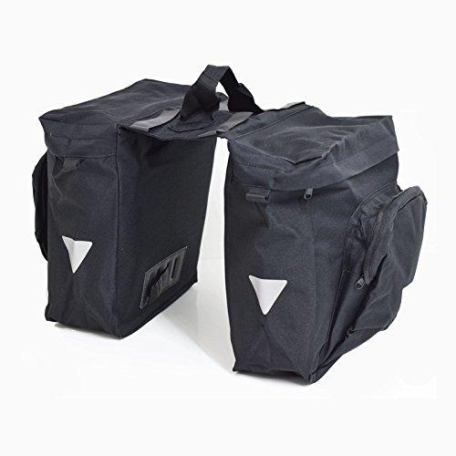 SAVAGE Fahrradtasche für Gepäckträger (2-Fach)