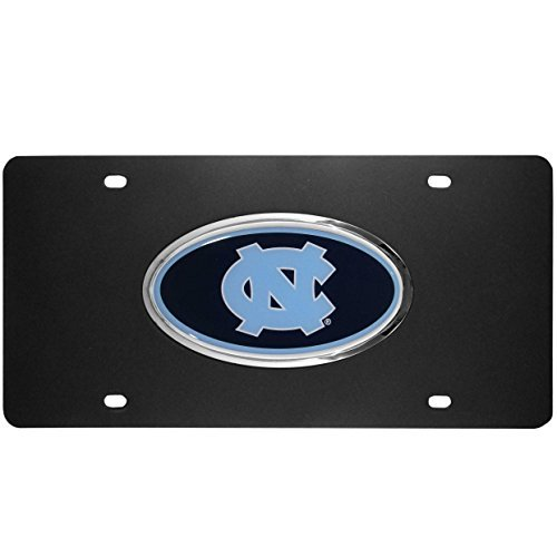 NCAA North Carolina Tar Heels Acrylic License Plate by Siskiyou