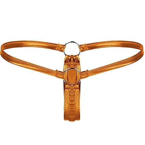 LVYI Damen String Gr. One Size, Gold