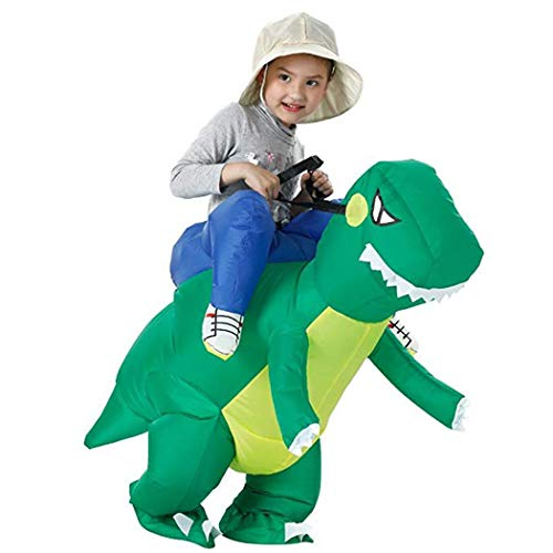 diaped Aufblasbare Kostüm Karikatur lustig Erwachsene/Kinder Halloween-Party Kostüm-Dinosaurier,Cowboy, Stier, Schwarzer Sumo, (Schwarz Aufblasbare Lustige Kostüm)