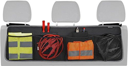 Kewago Kofferraum Organizer mit Klett. Der Platzsparer für mehr Ordnung im Auto