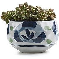 T4U 11CM Pots En Céramique du Style japonais /Plante Succulente/Plante en Pot/Cactus/Pot De Fleur/Cultiver