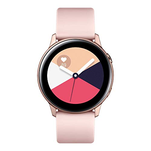 Samsung Galaxy Watch Active Smartwatch Tizen, Bluetooth, Activity Tracker e GPS, 39.5 mm, Rosa, [Versione Italiana]
