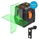 Tacklife SC L07G Kreuzlinien-Laser mit grünem Laserstrahl und Neigungsfunktion