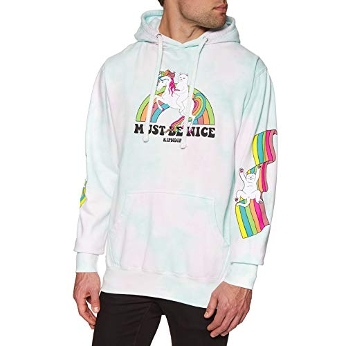 Rip N Dip My Little Nerm Pullover Hoody Small Cotton Candy Tie Dye