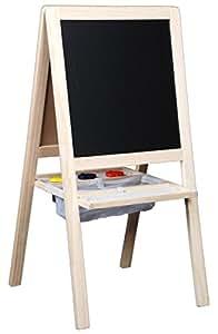 Tableau chevalet en bois Junior 4 en 1, 95 x 47 x 4 cm -PEGANE-