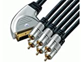 Home Theatre Scartstecker auf 6 x Cinch-Stecker Audio/Video In/Out 5m