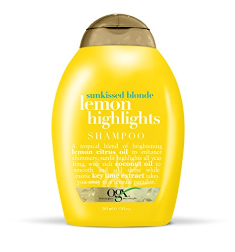 Organix Sunkissed Blonde Lemon Highlights Shampoo 385ml -