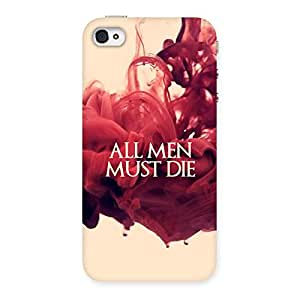 Neo World All Men Back Case Cover for Apple iPhone 4