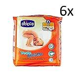 Lot de 6 couches Chicco veste asciutto taille 4 19 couches 8-18 kg pour enfant
