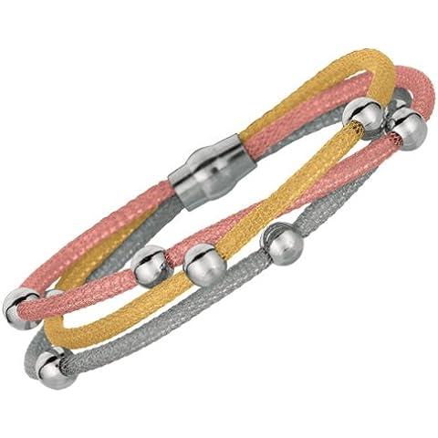 Collane, multicolore, 19,05 (7,50 cm 2,7 mm, 3 fili, colore: