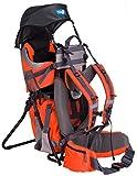 Ultrapower Kindertrage System Rucksack; Premium Qualität (hervoragend verarbeitet, durchdacht, wenig Eigengewicht) (orange)
