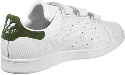 adidas Stan Smith CF, Sneaker Uomo Bianco (Ftwr White/Ftwr White/Night ...