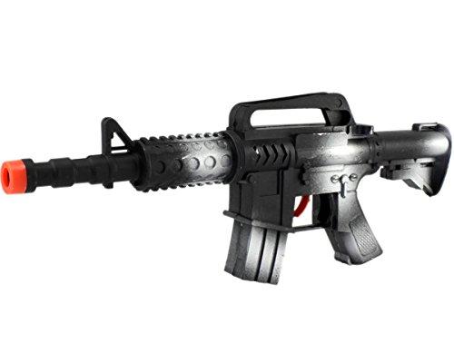 n XXL Rattergewehr Spielzeuggewehr Spielzeug Gewehr mit RATTER-SOUND ()