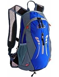 Lestra - Mochila y bolsa de hidratación (10 + 3 litros), color negro y azul