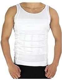 Krishna Gents Weight Loss Slim & Lift Slimming Shirt Waist Belt Body Shaper Vest For Men Size - XLarge (Pack Of1)