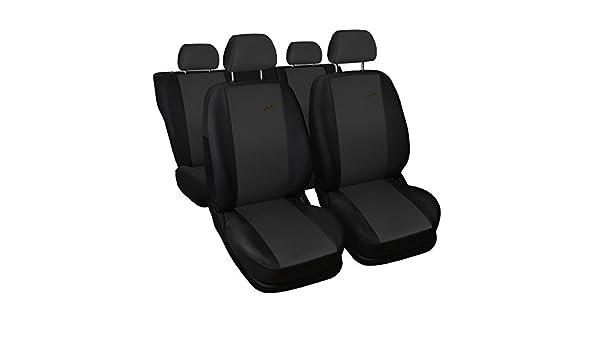 Universal Dunkel Grau Sitzbez/üge Komplettset Sitzbezug f/ür Auto Sitzschoner Set Schonbez/üge Autositz Autositzbez/üge Sitzauflagen Sitzschutz XR Saferide