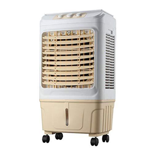 Klimaanlage Verdunstungsluftkühler 3 Geschwindigkeit 35L Wassertank 6000 Luftvolumen Dämpfer for 30-50 Quadratmeter - Quadratmeter Kühlung