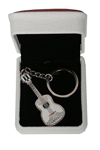 Mesky Llavero Guitarra Anillo Llave Coco Accesorio