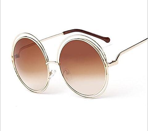 Sport-Art-Sonnenbrille-Fahrer-Gläser mit faltbarem Feld Shatterproof Anti-Kratzer für Mans u. Frauen-einen.Kreislauf, der das Fischen fährt, das Golf wandert ( Color : Brown )