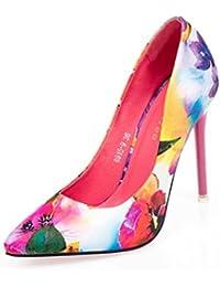 Tacón Para Amazon Mujer Boda De Zapatos Conos es FUqwXR