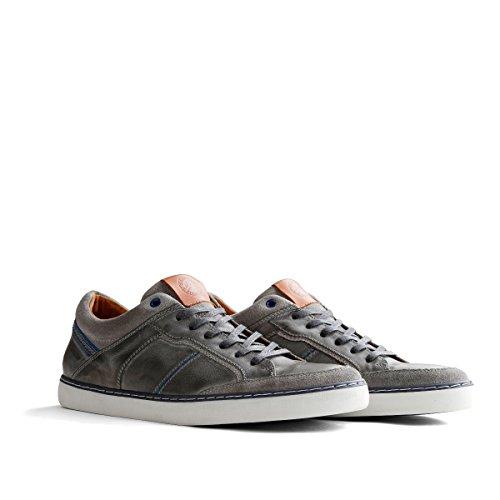 Travelin' Corby Herren Leder Sneakers | HellGrau EU 44