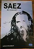 AFFICHE / SAEZ - en Concert 2019-80x120cm Poster