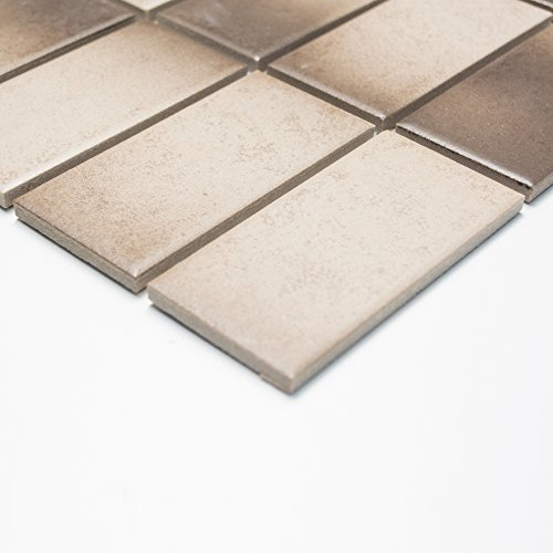 azulejos mosaico cristal mosaico mosaico azulejos, cerámica, Suelo baño cocina Nuevo 6mm # 230