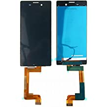 Sony Xperia M4 Aqua E2303 E2306 E2353 LCD Pantalla Táctil Digitalizador Vidrio Completa Reemplazo y Herramientas (Negro)