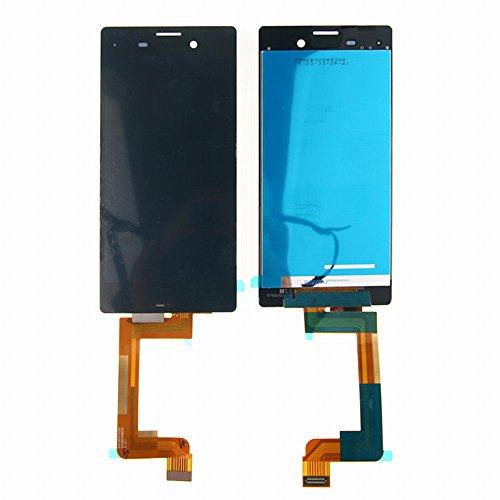 Sony Xperia M4 Aqua E2303 E2306 E2353 LCD Display Touchscreen Digitizer Glas Assembly Ersatzteile + Klebeband & Werkzeuge (schwarz) (Lcd-m4)