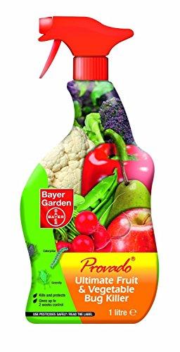 SBM Life Science Provado Ultimate Fruit and Vegetable Bug Killer RTU, 1 Litre
