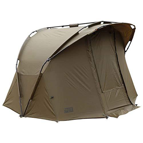 FOX EOS 1 Man bivvy 205x270x140cm - Angelzelt zum Wallerangeln & Karpfenangeln, Zelt für Karpfenangler, Karpfenzelt zum Angeln