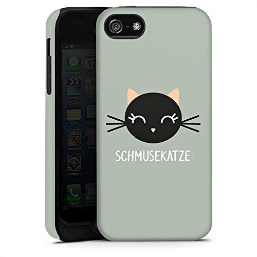 Apple iPhone 6 Housse Étui Silicone Coque Protection Chat Chat Chaton Cas Tough terne