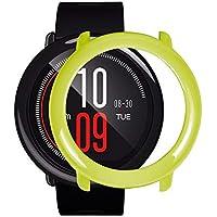 Funda/Protector de Pantalla Completa para HUAMI AMAZFIT Smart Watch Vistoso PC para HUAMI AMAZFIT Smart Watch Holatee