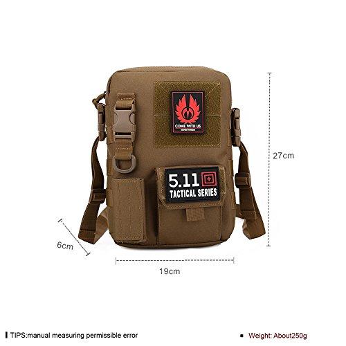 Faysting EU borsa a spalla borsa a tracolla per uomo studenti uniforme militare stile vari colori per scegliere buon regalo C