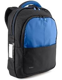 """Belkin B2B077-C01 Sac à dos pour ordianteur portable 13"""" Noir, Bleu"""